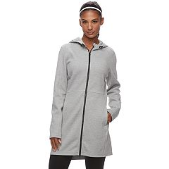 Women's FILA SPORT® Hooded Long Knit Jacket