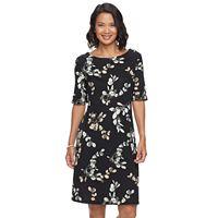 Women's Croft & Barrow® Print Sheath Dress