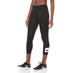 Women's Nike Sportswear Midrise Swoosh Ankle Leggings