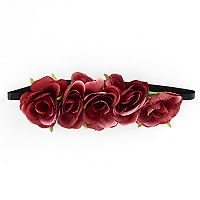 Mudd® Rose Elastic Headband