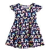 Toddler Girl Jumping Beans® Flutter-Sleeved Dress