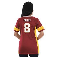 Women's Majestic Washington Redskins Kirk Cousins Draft Him Fashion Top