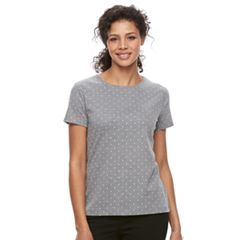 Women's Croft & Barrow® Essential Classic Crewneck Tee