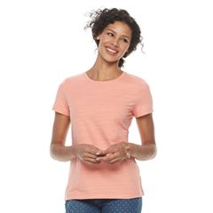 Women's Croft & Barrow® Essential Crewneck Tee