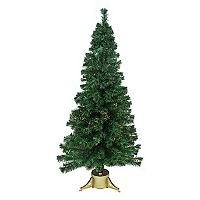 7-ft. Pre-Lit Color-Changing Fiber Optic Artificial Christmas Tree