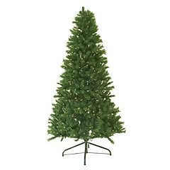 4-ft. Pre-Lit Canadian Pine Artificial Christmas Tree