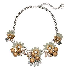 Simply Vera Vera Wang Floral Statement Necklace