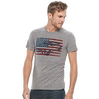 Men's Ford Mustang Flag Tee
