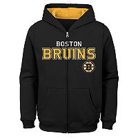 Boys 8-20 Boston Bruins Stated Hoodie