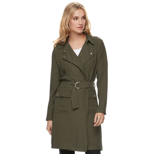 Women's Apt. 9® Belted Trench Coat