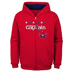 Boys 8-20 Washington Capitals Stated Hoodie