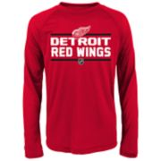 Boys 8-20 Detroit Red Wings Epitome Tee