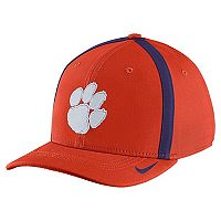 Adult Nike Clemson Tigers Aerobill Sideline Cap