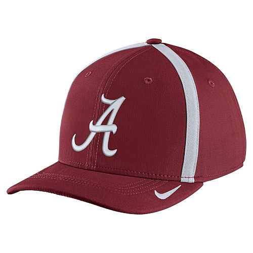 Adult Nike Alabama Crimson Tide Aerobill Sideline Cap