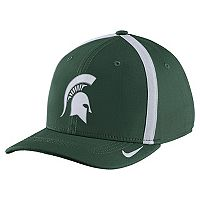Adult Nike Michigan State Spartans Aerobill Sideline Cap