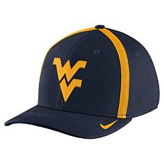 Adult Nike West Virginia Mountaineers Aerobill Sideline Cap