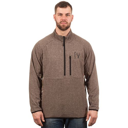 Men's Huntworth Tricot Fleece Half-Zip Pullover