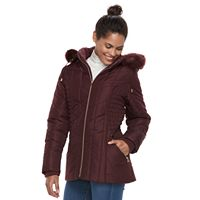 Women's d.e.t.a.i.l.s Hooded Quilted Jacket
