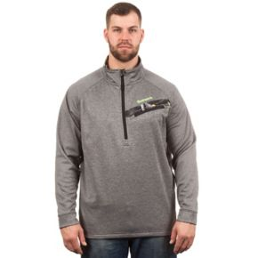 Men's Huntworth Camo Performance Half-Zip Pullover