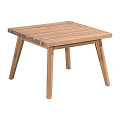 Zuo Modern Grace Bay Patio Wood End Table