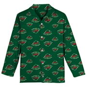 Boys 8-20 Minnesota Wild Coat Pajama Set