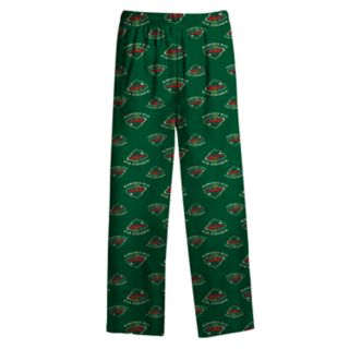 Boys 8-20 Minnesota Wild Coat Pajama Set