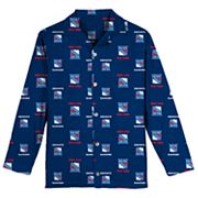 Boys 8-20 New York Rangers Coat Pajama Set