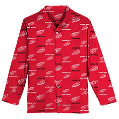 Boys 8-20 Detroit Red Wings Coat Pajama Set