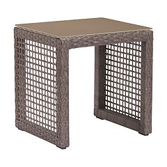 Zuo Modern Coronado Woven Patio End Table