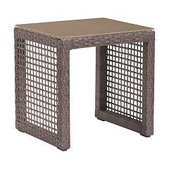 Zuo Modern Coronado Woven Patio End Table