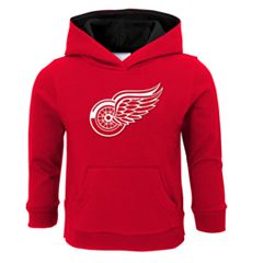 Boys 4-7 Detroit Red Wings Prime Pullover Fleece Hoodie