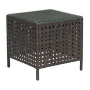 Zuo Modern Pinery Basketweave Patio End Table