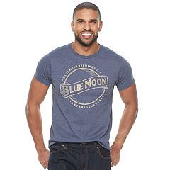 Men's Blue Moon Beer Logo Tee