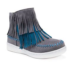 MUK LUKS Linda Women's Water-Resistant Ankle Boots