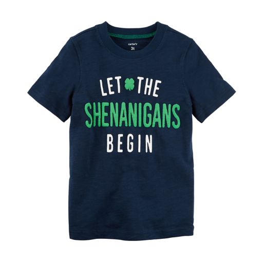 Boys 4-8 Carter's St. Patrick's Day Shenanigans Graphic Tee