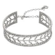 Simply Vera Vera Wang Simulated Crystal Choker Necklace