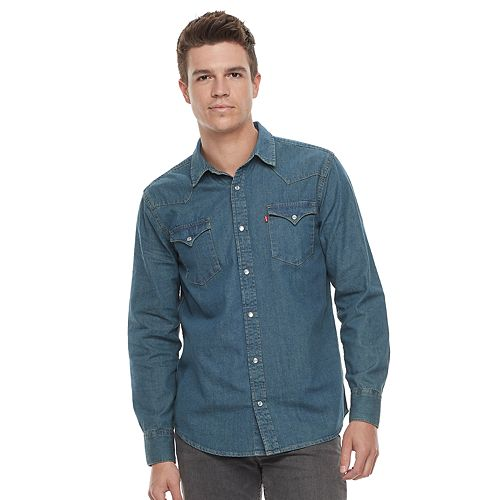 9fa3818866 Men s Levi s® Woven Denim Shirt