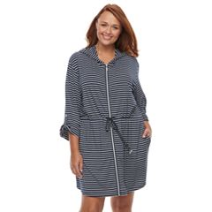 Plus Size Apt. 9® Striped Jersey Cover-Up