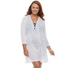 Plus Size Apt. 9® Jacquard Tunic Cover-Up