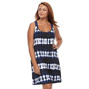 Plus Size Apt. 9® Tie-Dye Macrame Cover-Up