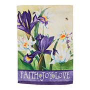 Evergreen 'Faith' Indoor / Outdoor House Flag