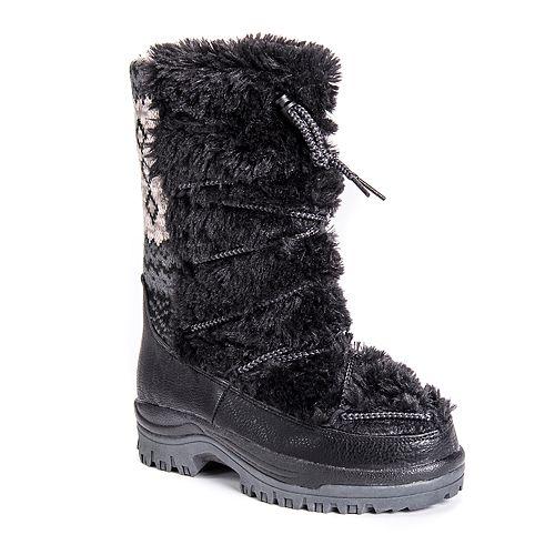 MUK LUKS Massak Women's ... Waterproof Winter Boots XQSPD4qEX