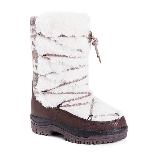 69d809057e4 MUK LUKS Massak Women's Waterproof Winter Boots