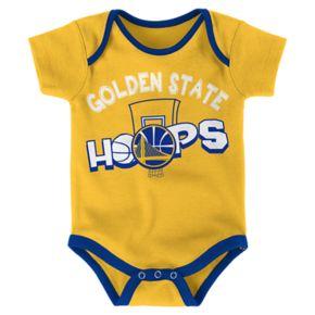 Baby Golden State Warriors 3-Pack Bodysuit Set