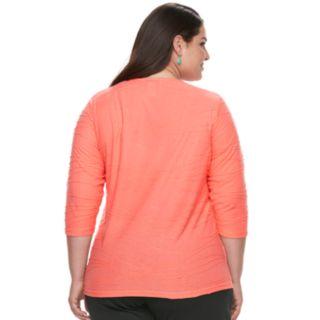 Plus Size Cathy Daniels Tunic Top