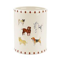Avanti Dogs On Parade Wastebasket