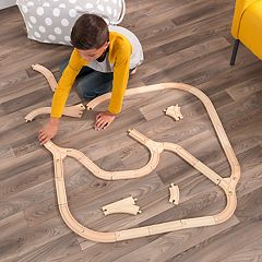 KidKraft Wooden Expansion Track Pack