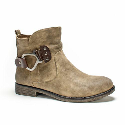 MUK LUKS Hayden Women's Water-Resistant Ankle Boots