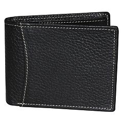 Men's DOPP RFID-Blocking Flip-Out Double ID Slimfold Wallet