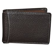 Men's DOPP Hudson RFID-Blocking Front-Pocket Clip Flip Wallet